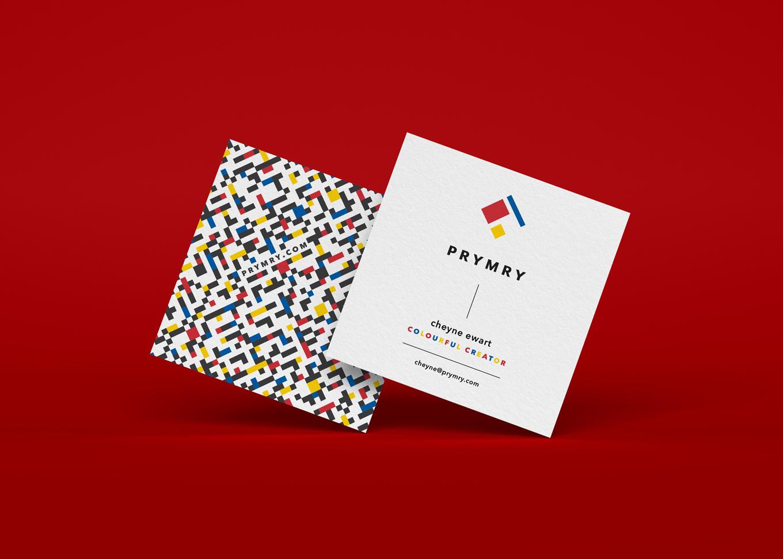 Prymry | Business Card Design